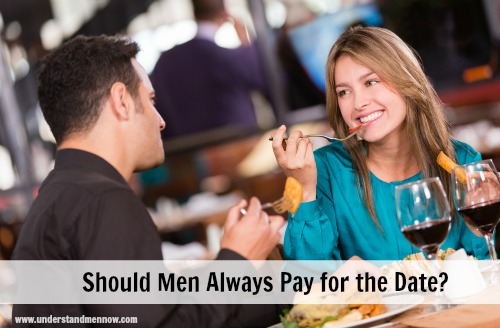 should men always pay for the date